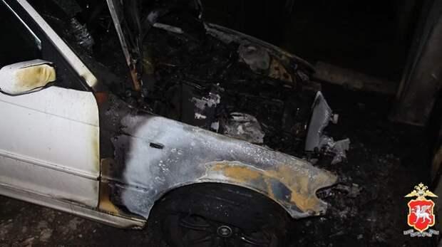 Поджигателя автомобилей задержали в Симферополе (ВИДЕО)