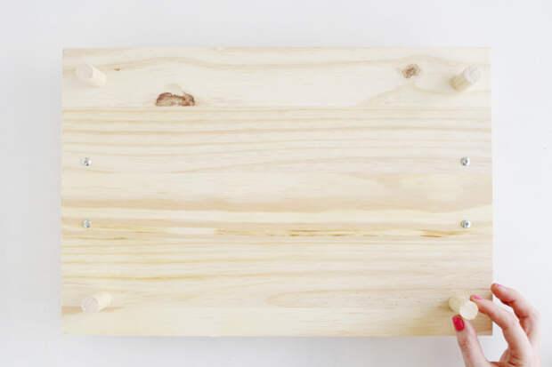 DIY Pine Serving Tray 8
