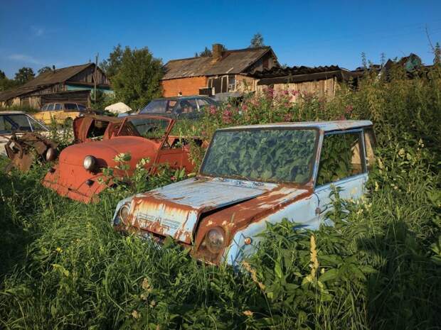 Музей или кладбище? Как погибают автолегенды Черноусово, авто, автомобили, автомузей, азлк, коллекция, музей, ретро авто