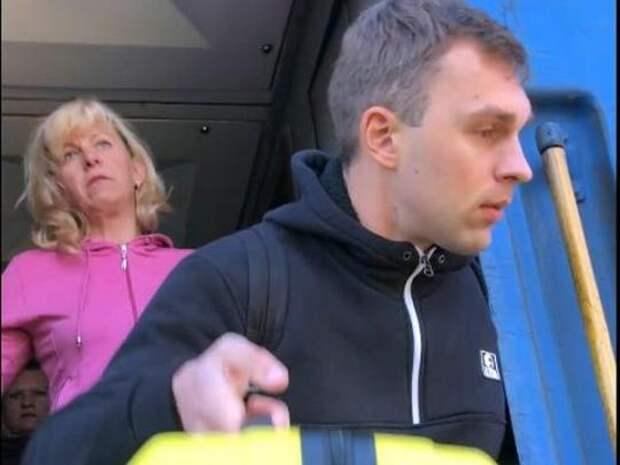 Украинца не пустили в Москву и вытолкнули из поезда (ВИДЕО)