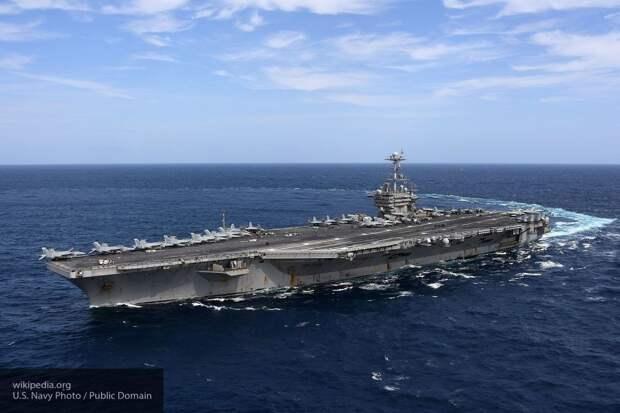 NI объяснил, почему авианосцы США не представляют угрозы для России