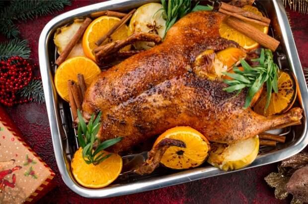 Рецепты фаршированных птиц на Новый год от опытных мастеров