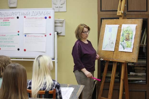 Ученики художественной школы разработали концепцию благоустройства сквера А.В. Ступина вАрзамасе