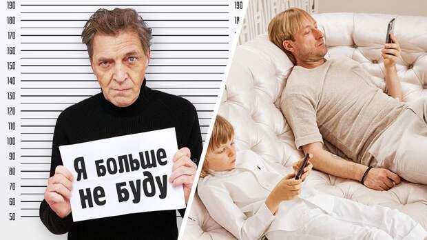 Невзоров высмеял 7-летнего сына Плющенко иРудковской после ролика опоправках вКонституцию