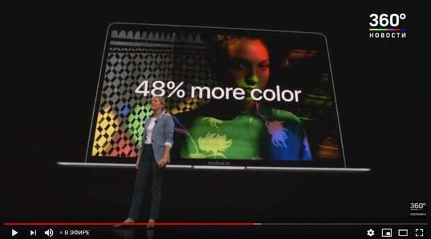 Apple презентовала обновленный MacBook Air