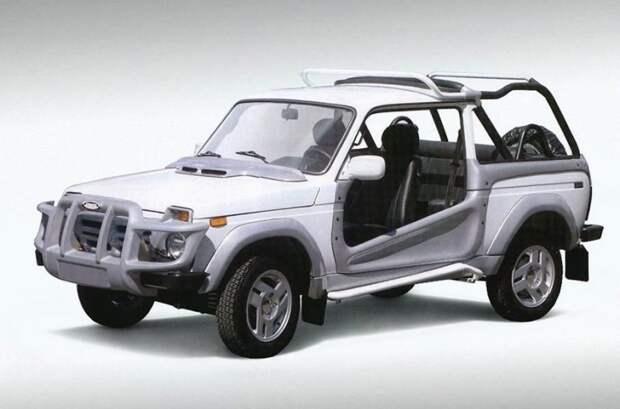 ВАЗ-212183 «Ландоле» авто, автодизайн, автомобили, внедорожник, двери, дверь, дизайн, интересные автомобили