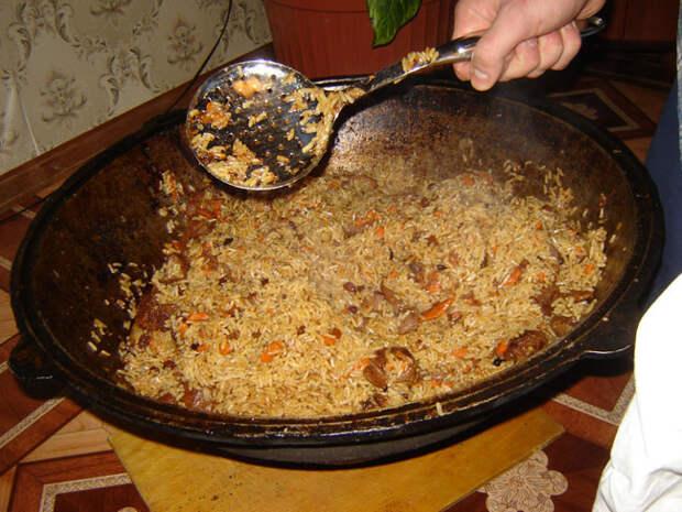 Как приготовить настоящий узбекский (ферганский) плов еда, плов, рецепт, своими руками, сделай сам, узбекская кухня