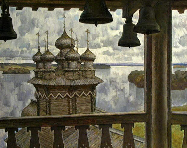 Борис Николаевич Поморцев — известный карельский художник-пейзажист.