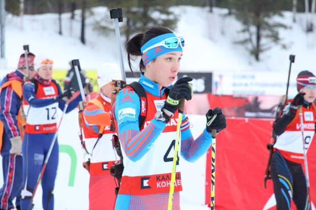 Биатлонистка из Можги Ульяна Кайшева стала лучшей из россиянок на этапе Кубка мира
