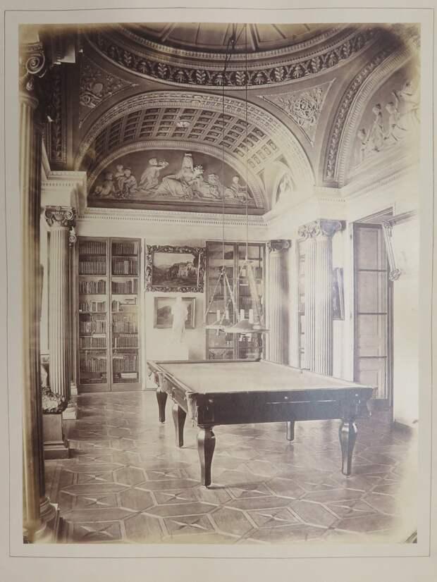 Строгановский дворец. Минеральный кабинет (Бильярдная)