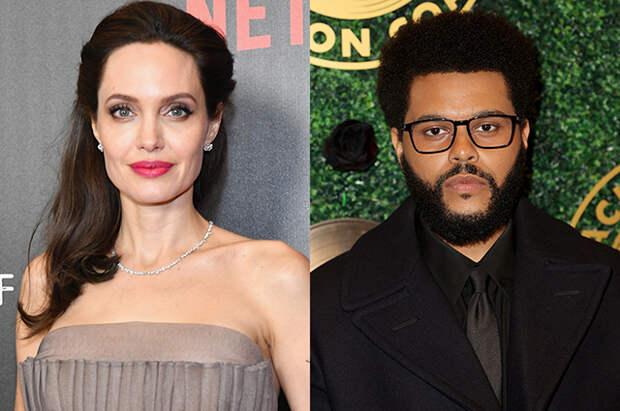 Анджелина Джоли и The Weeknd снова подогрели слухи о романе