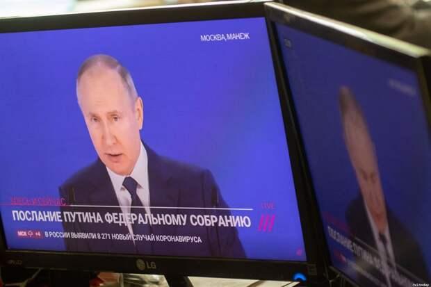 Новые выплаты детям, Киплинг и провокаторы: о чем говорил Путин в послании Федеральному Собранию 2021. Коротко