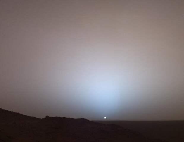 Закат на Марсе (марсоход Spirit, NASA, 19 мая 2005 год) история, события, фото