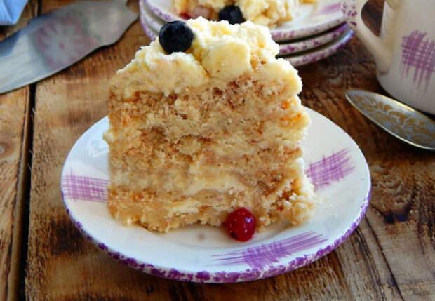 Летний торт: готовим без духовки