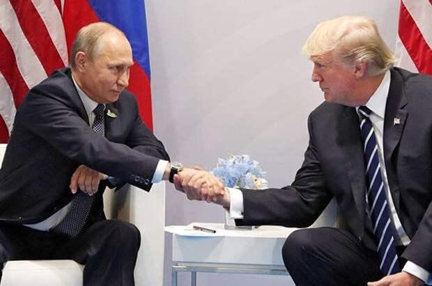 Трамп намерен обсудить с Путиным вмешательство РФ в выборы в США