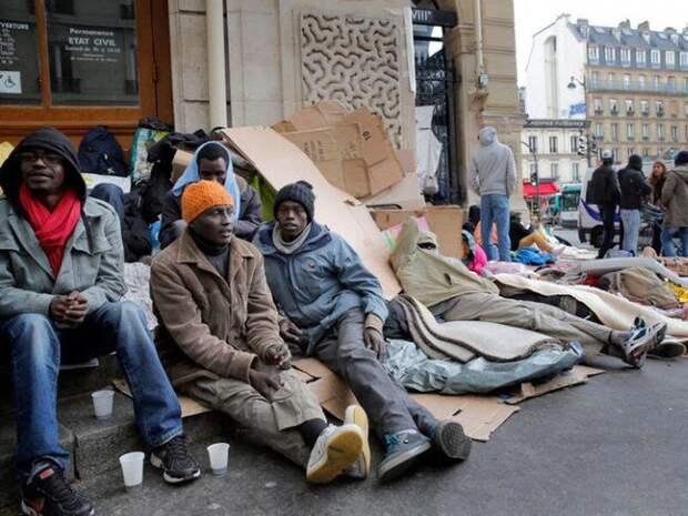 Мигранты.Похищение Европы