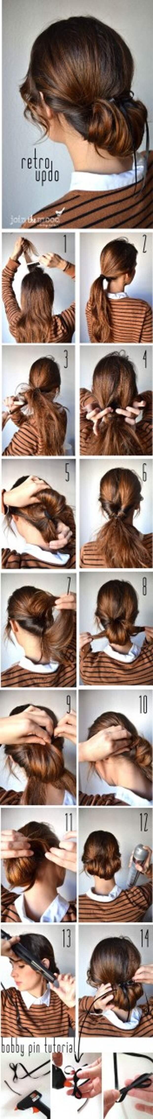Причёски для длинных волос