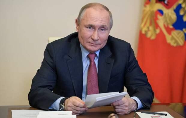 Путин поручил ГосДуме вытащить россиян из бедности