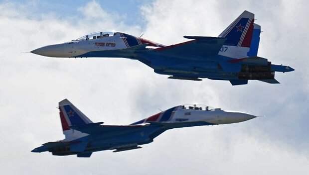 Истребители ЧФ «поприветствовали» корабли США