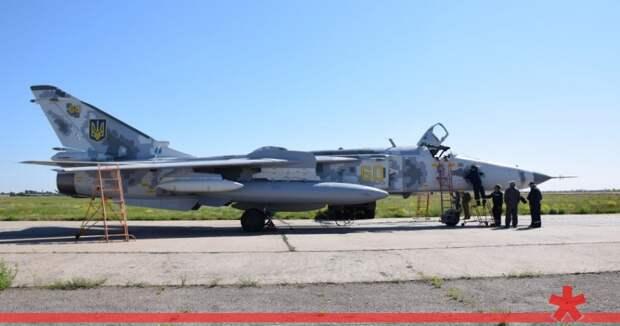 ВСУ начали использовать реактивные самолеты на Донбассе