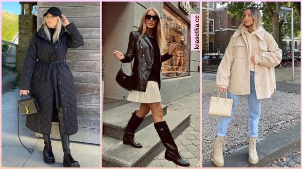 17 безупречных примеров как стильно носить осеннюю обувь