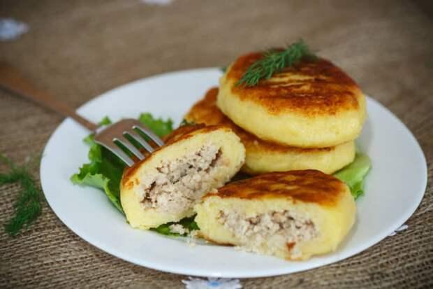 Быстрые картофельные зразы. Съедаются на ура, готовятся - легко! 2