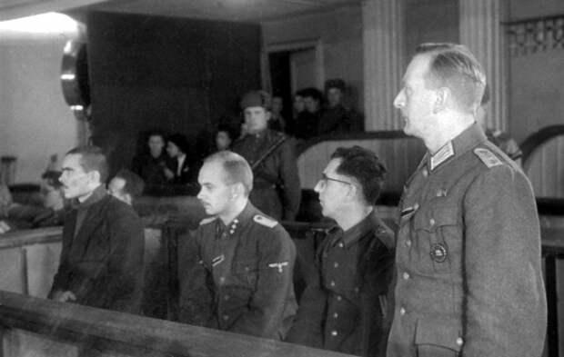 Как Сталин поступал с нацистскими военными преступниками
