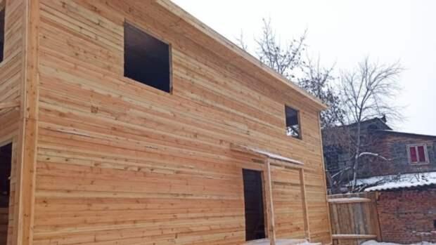 Стоимость деревянных домов увеличилась в России