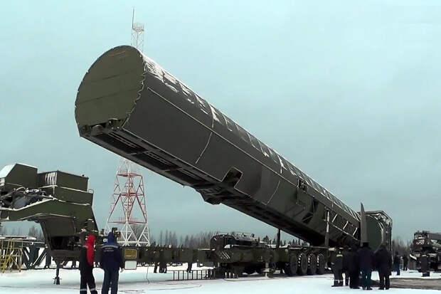 Баллистическую ракету «Сармат» назвали посланием от России к Байдену