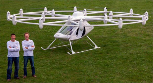 «Летающий автомобиль» все ближе: Volocopter VC-200 выходит в серию