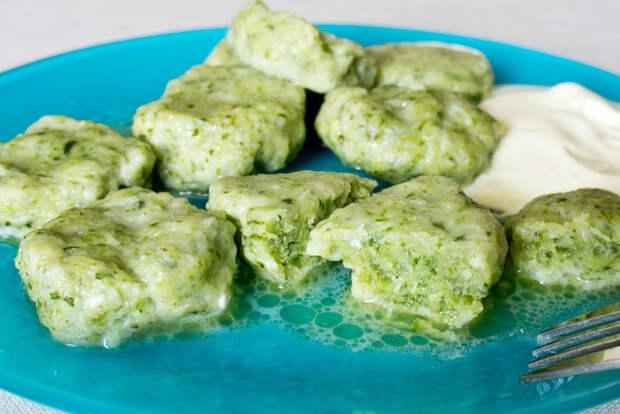 Рецепты по четвергам. Клёцки, ньокки, галушки, вареники. Несладкие ленивые вареники (4)