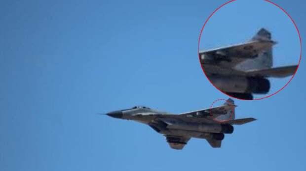 Опубликованы разоблачающие фейк Запада снимки «российских» МиГ-29 над Ливией