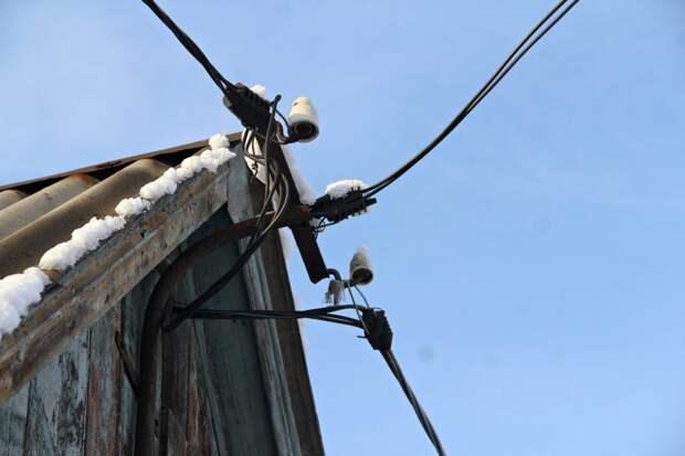 Электроснабжение в 911 частных домах Усолья-Сибирского восстановлено