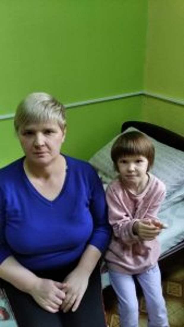 Ирина Литвякова с дочерью / Фото из личного архива
