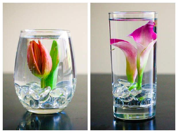 Спасите каждый сломанный цветок: оригинальные подводные композиции