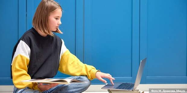 Наталья Сергунина рассказала об онлайн-формате работы детских технопарков в Москве/Фото: М. Денисов mos.ru