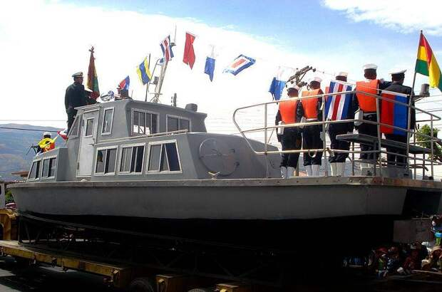 Правь, Боливия, морями!