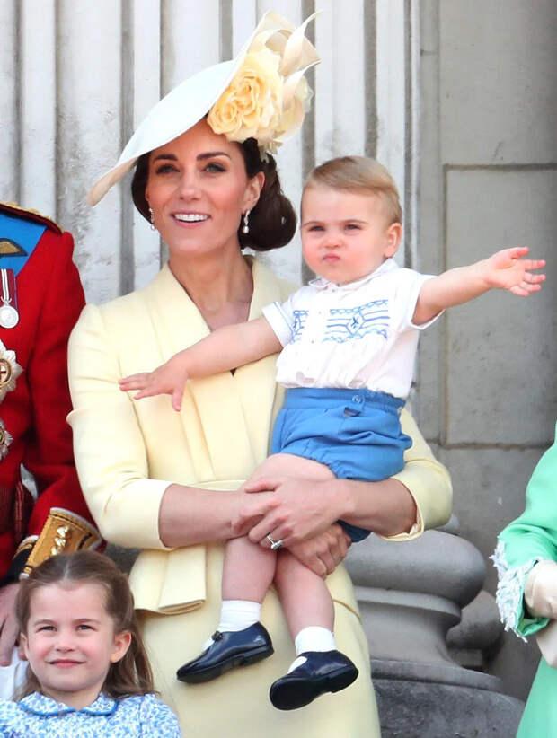 Кейт Миддлтон день рождения принца Луи