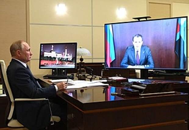 Встреча сврио губернатора Белгородской области Вячеславом Гладковым