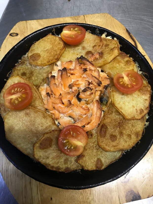 Рецепт «Норвежской рыбной скоблянки». И картофель, и рыбка – блюдо нежнейшее, пропитанное изысканным вкусом