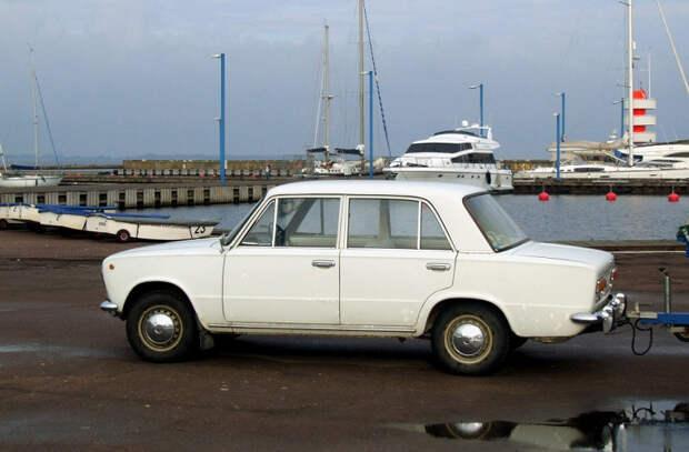 ВАЗ-2101 оказался не по зубам европейским угонщикам