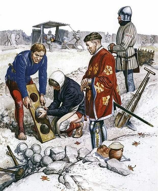 Дорого ли стоила артиллерия в Средние века?