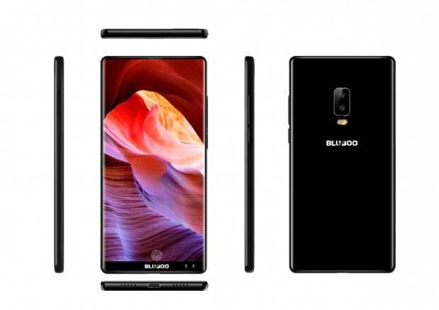 Bluboo готовит безрамочный смартфон Bluboo S2 с четырьмя камерами