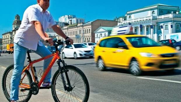 Эксперимент ЗР: кто быстрее в городе – автомобилист или велосипедист?