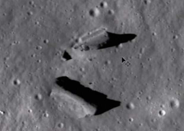 Луна продолжает подбрасывать уфологам загадки