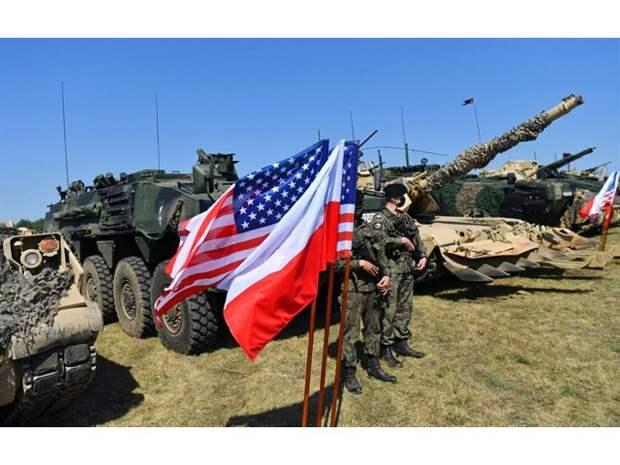 США руками Польши и стран Балтии готовятся взорвать Белоруссию