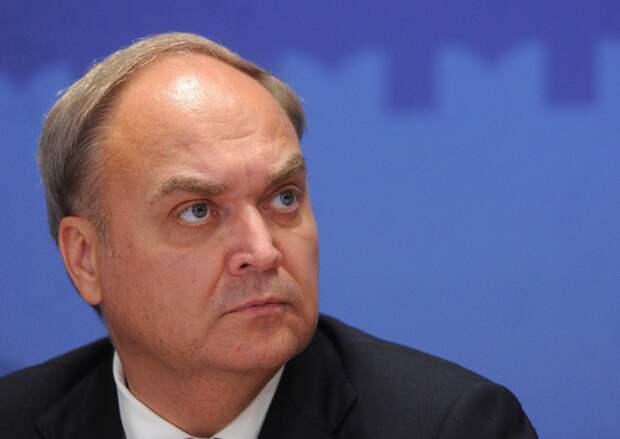 В МИД России рассказали о сроках возвращения посла Анатолия Антонова в США