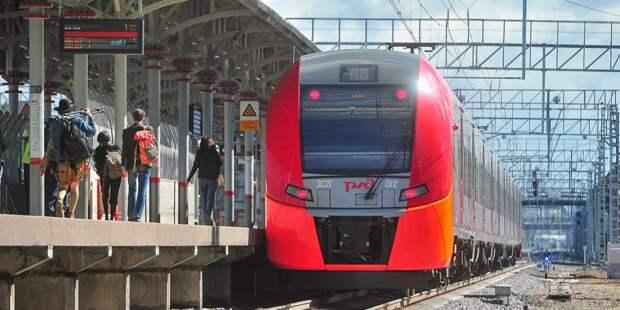 В вагонах поездов на МЦК «Панфиловская» запустили аудиоэкскурсии