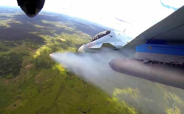 Россия фактически возобновила свою воздушную кампанию в Сирии