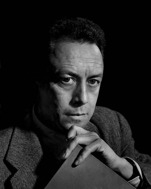 Albert Camus by Yousuf Karsh